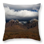 Organ Mountains New Mexico Throw Pillow