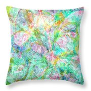 Organic Colors By Jan Marvin Throw Pillow