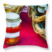 Organic Goodness Throw Pillow