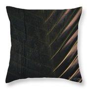 Organic Palm Throw Pillow