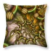 Organic Playground Throw Pillow