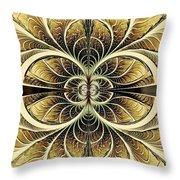 Organic Texture Throw Pillow