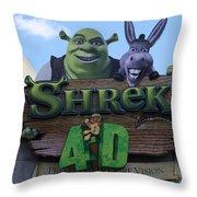 Ogre Vision Throw Pillow