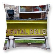 Oriental Delight Throw Pillow