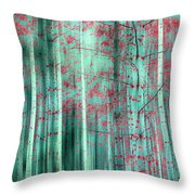 Oriental Feeling Throw Pillow