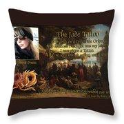 Oriental Princess Throw Pillow