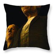 Original Goth Couple Throw Pillow