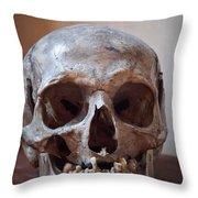 Original Model Het Rembranthuis Amsterdam Throw Pillow