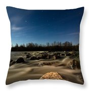 Orion Throw Pillow by Davorin Mance