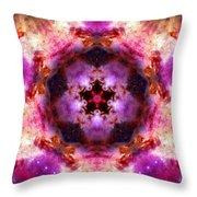 Orion Nebula Iv Throw Pillow