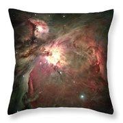 Space Hollywood - Orion Nebula Throw Pillow