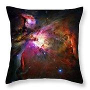 Orion Nebula Throw Pillow