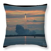 Orion Test Flight Throw Pillow