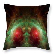 Orion's Reflection - Deep Space Nebula Throw Pillow