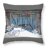 Orlando Magic Throw Pillow