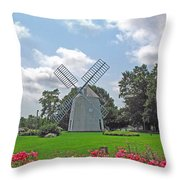 Orleans Windmill Throw Pillow