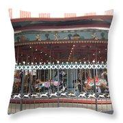 Ornamental Fence Throw Pillow