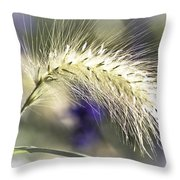 Ornamental Sweet Grass Throw Pillow