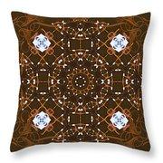 Ornamental Zen Tranquility Throw Pillow
