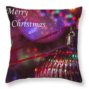 Ornaments-2052-merrychristmas Throw Pillow