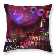 Ornaments-2054-merrychristmas Throw Pillow
