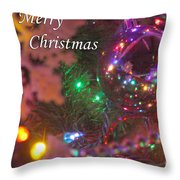 Ornaments-2090-merrychristmas Throw Pillow