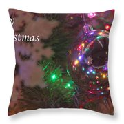 Ornaments-2096-merrychristmas Throw Pillow