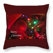 Ornaments-2107-merrychristmas Throw Pillow