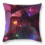 Ornaments-2136-happyholidays Throw Pillow