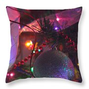 Ornaments-2143 Throw Pillow