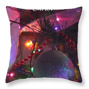 Ornaments-2143-merrychristmas Throw Pillow