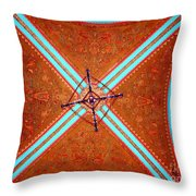 Ornate Ceiling Throw Pillow