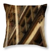 Ornate Facade Throw Pillow