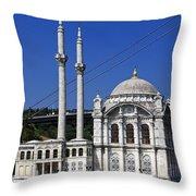 Ortakoy Mosque Throw Pillow