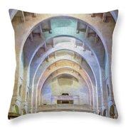 Coptic Church Throw Pillow
