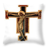 Orthodox Cross Throw Pillow