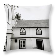 Orthodox Syrian Church In Cochin Throw Pillow