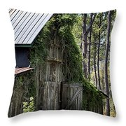 Orton Plantation Barn Throw Pillow
