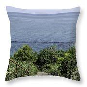 Italian Landscapes - Ortona Italy Throw Pillow