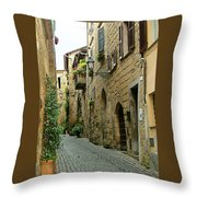 Orvieto Lane Throw Pillow