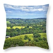 Osage County Lookout Throw Pillow