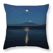 Osornos Volcano Throw Pillow