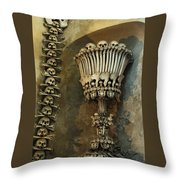 Ossuary Chalice Throw Pillow