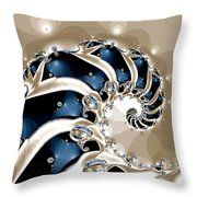 Osteodiplopada  Throw Pillow