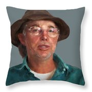 Otto Kilcher Throw Pillow