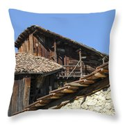 Ottoman Barns Throw Pillow