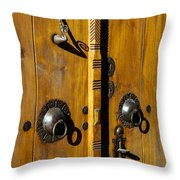 Ottoman Door Knockers Throw Pillow