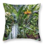 Otts Waterfall Room   Schwenksville Pennsylvania Usa Throw Pillow
