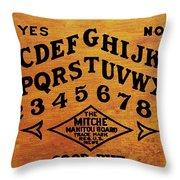 Ouija Board 1 Throw Pillow