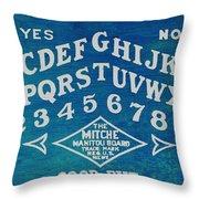 Ouija Board 2 Throw Pillow
